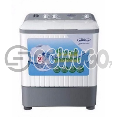 Haier Thermocool 6KG Big Washing Machine Top Load Semi-Automatic Washing Machine - TLSA06B high quality product order now and start washing: unable to load image
