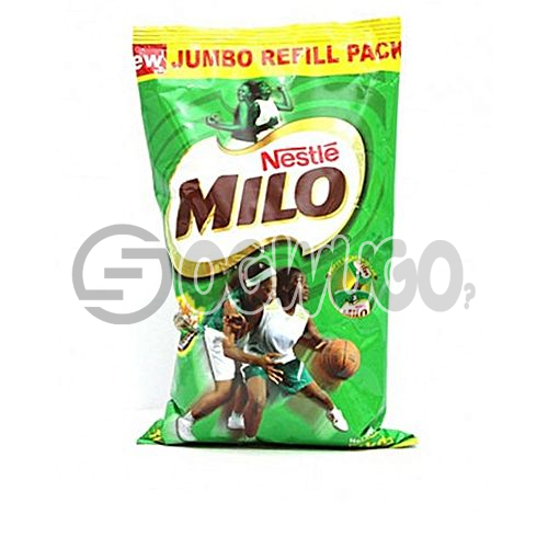 One  kilogram (1kg) nourishing Nestle Milo chocolate, malt and sugar powdered sachet refill. : unable to load image