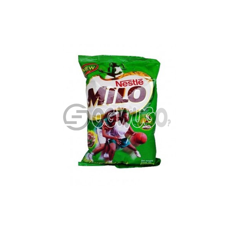 500 grams nourishing Nestle Milo chocolate, malt and sugar powdered sachet refill size.