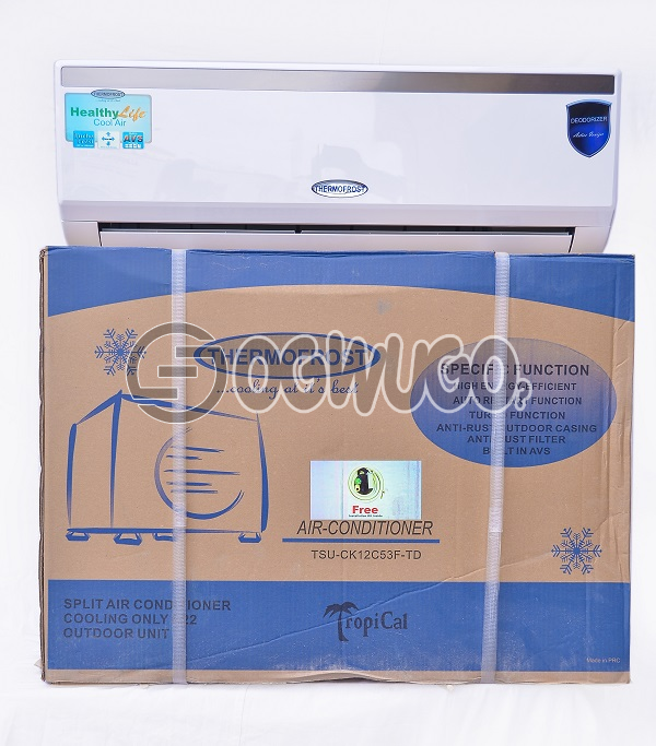 Thermofrost Split unit Turbo Series Air conditioner (1 Horse Power) MODEL: TSU-CK09C53F-TD: unable to load image