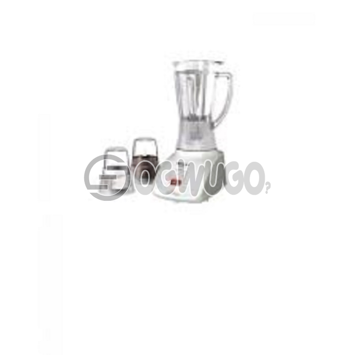 Panasonic blender mx-1021, 2 in 1 (Blending & Grinding) Stainless steel blades 1.5L Container, features the Panasonic Saber Cutter with 2 Dry Mills for excellent blending: unable to load image