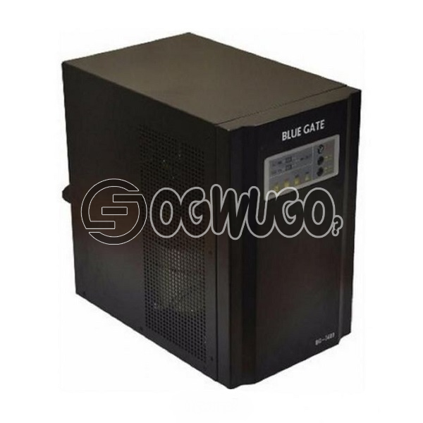 BLUE GATE 3.4KVA Pure Sine Wave Inverter, UPS, AVR (Stabilizer) and charger function Generator compatible Low power self-consumption Fast changeover, guarantees uninterrupted power supply: unable to load image