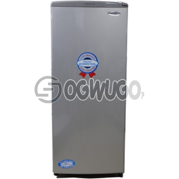 Thermocool fridge 180s, 180 Litres-storage capacity, Direct cooling technology, Fully tropicalized compressor, Big evaporator for rapid and uniform cooling, Glass shelve.
