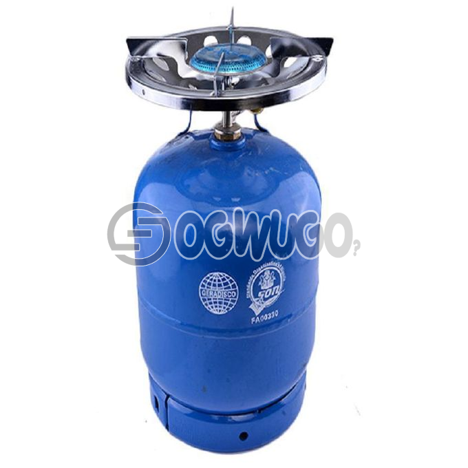 5KG GAS CYLINDER AND BURNER original foreign cylinder that is very durable and efficient order now and we will deliver it to your doorstep: unable to load image