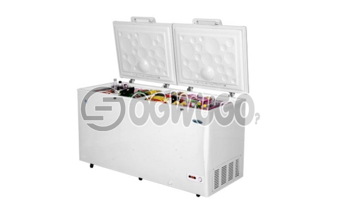 Thermocool deep freezer Htf 42g, Anti rust protected Low noise operation 75mm insulation thickness 100-hours (4 days) freezing capacity after power interruption super freezing Wide voltage compressor: unable to load image