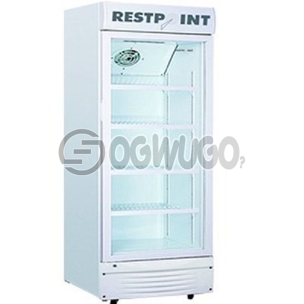 RestPoint ShowCase Cooler RP-270SC, Model: RP-270SC,  Transparent double layers glass door, Universal castor for easy moving: unable to load image