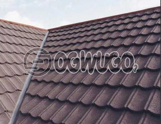 Classic Light Weight Roofing Tile. Stone chip coated metal roofing tile. Sold Per Square Meter.: unable to load image