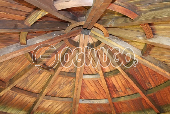 Wood Tile Roofing. wood primarily used to cover roofs and walls, Sold per Square Meter.