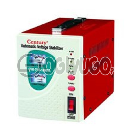 Century 2000W TUB 2KVA Stabilizer, 2000VA Capacity Stabilizer For Large Fridges and Chest Freezers Output: 230V, 50hz