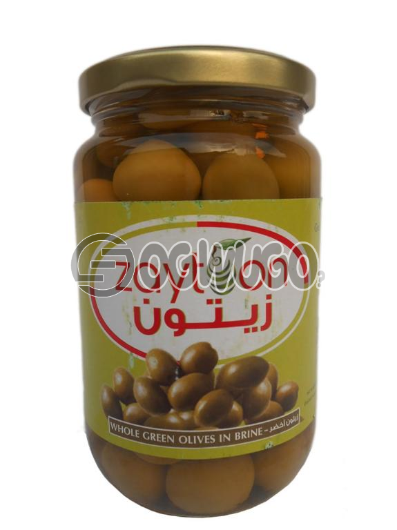 Zaytoon Whole Green Olives: unable to load image