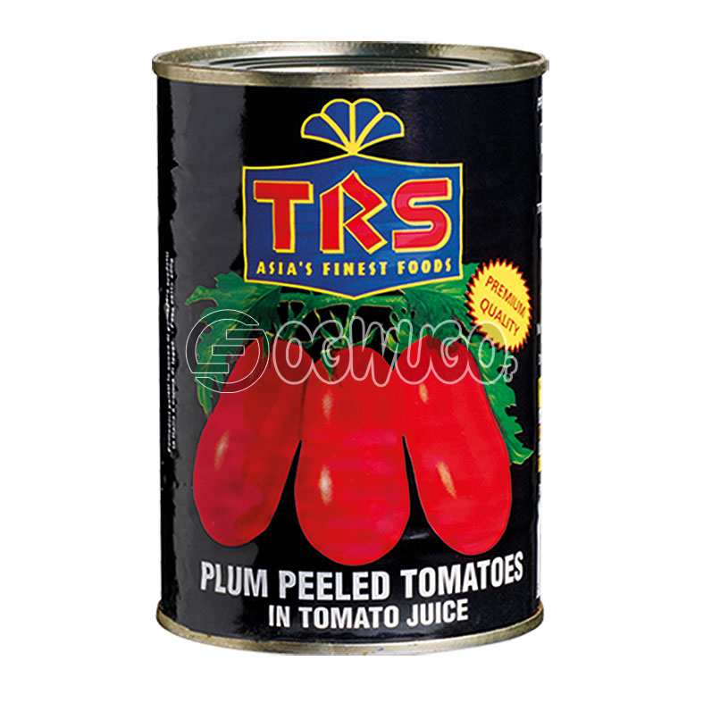 TRS Plum Peeled Tomatoes: unable to load image