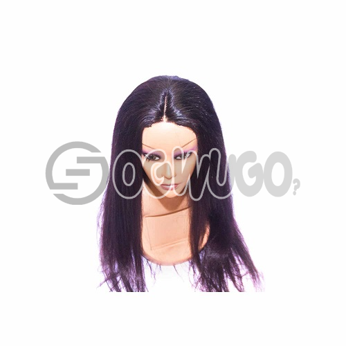 Indian Straight Hair Human Hair Wig, hair length of 22 inches. This order takes two working day to be delivered from when you place order