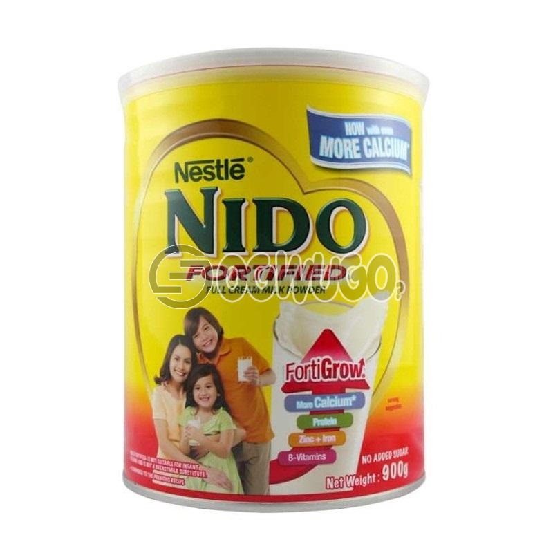 Nestle Nido Fortified Full Cream Milk Powdered Medium