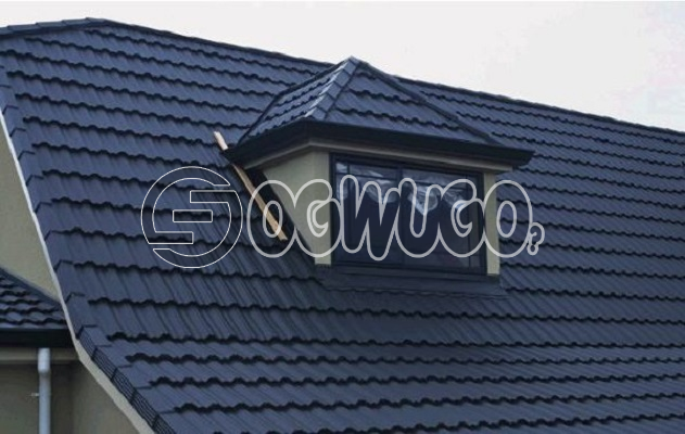 Milano Stone Coated Roofing Sheet. Sold per Square Meter. quality roofing sheet, Long Lasting, and E: unable to load image