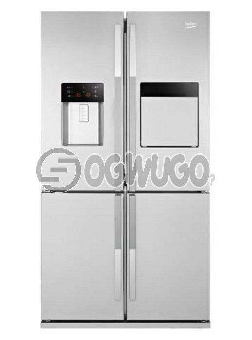 Beko 368L Double Door Refrigerator