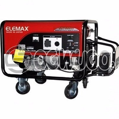 Elemax Honda 7600 Generator: unable to load image