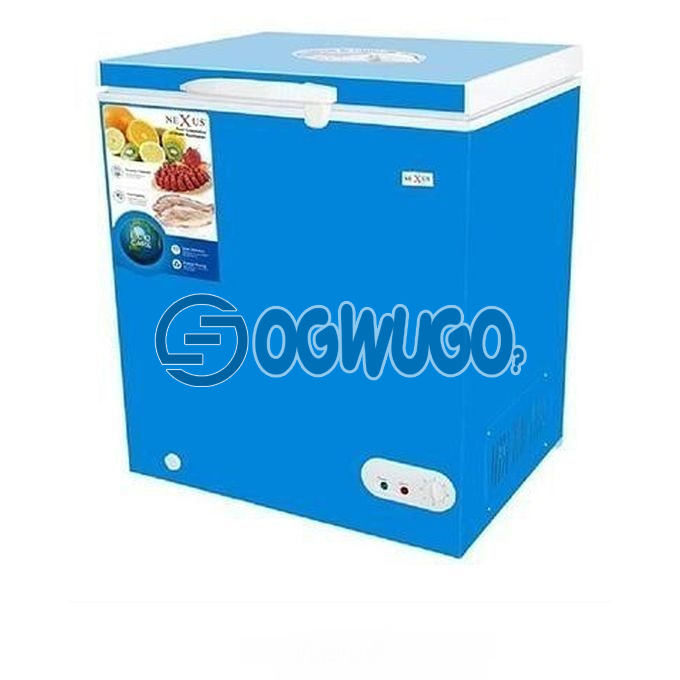 Nexus Nexus Chest Freezer-NX-160, anti rust body, auto lock function while working, a built to last compressor: unable to load image