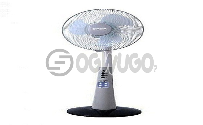 Qasa standing fan (rechargeable): unable to load image