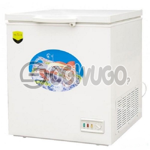 NEXUS CHEST FREEZER NX-265E, Adjustable Thermostat, LED Door Lamp, Fast Freezing Function, High Efficiency Compressor: unable to load image
