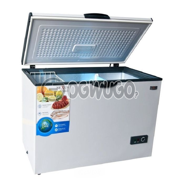 Nexus NX-390C Nexus Chest Freezer 327 Litres, Fast Freezing Function, Removable Storage Basket please order now and we will deliver to your doorstep: unable to load image