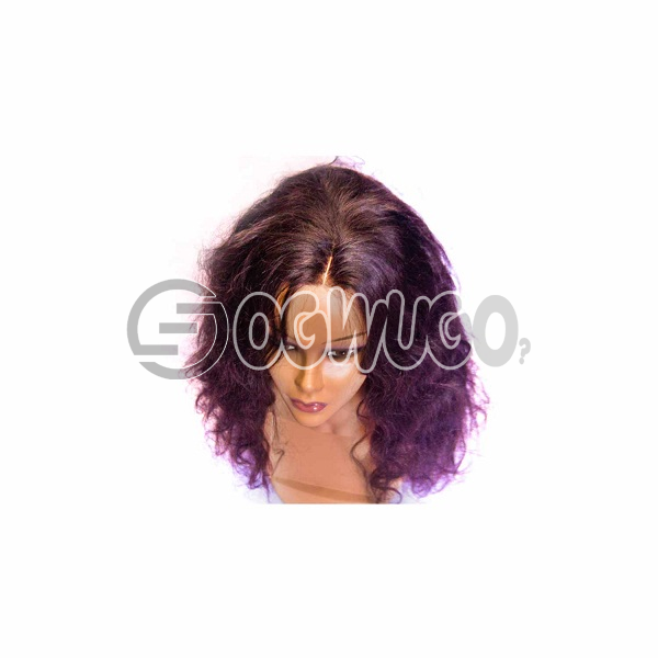 highlighted Peruvian body wave Human Hair Wig, hair length of 18 inches. This order takes two working day to be delivered from when you place order: unable to load image