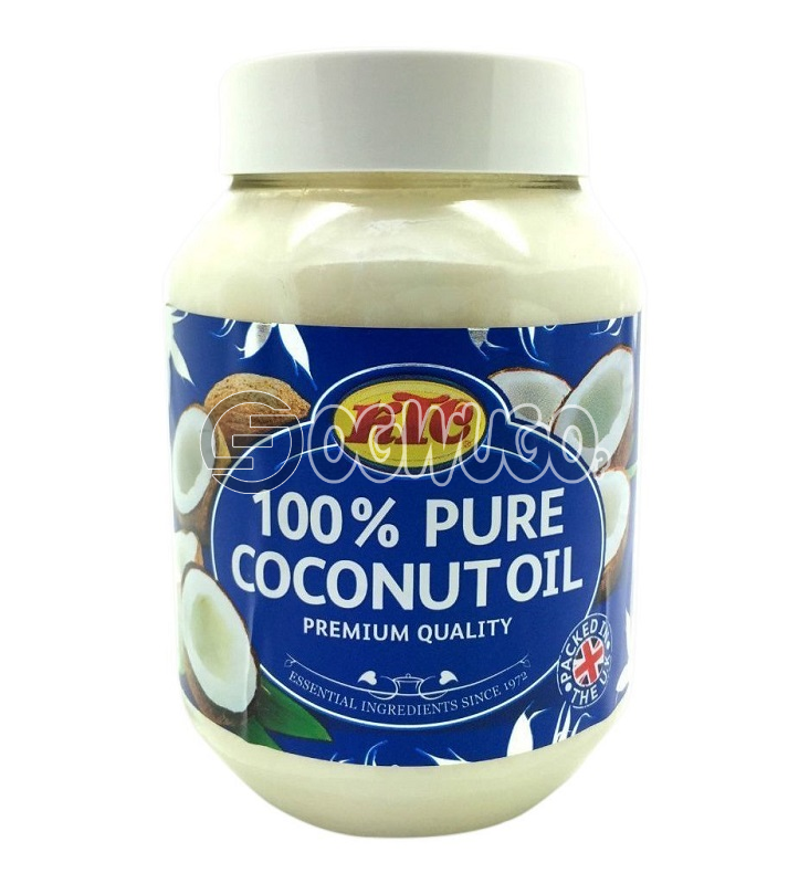 100% Pure Coconut Oil: unable to load image