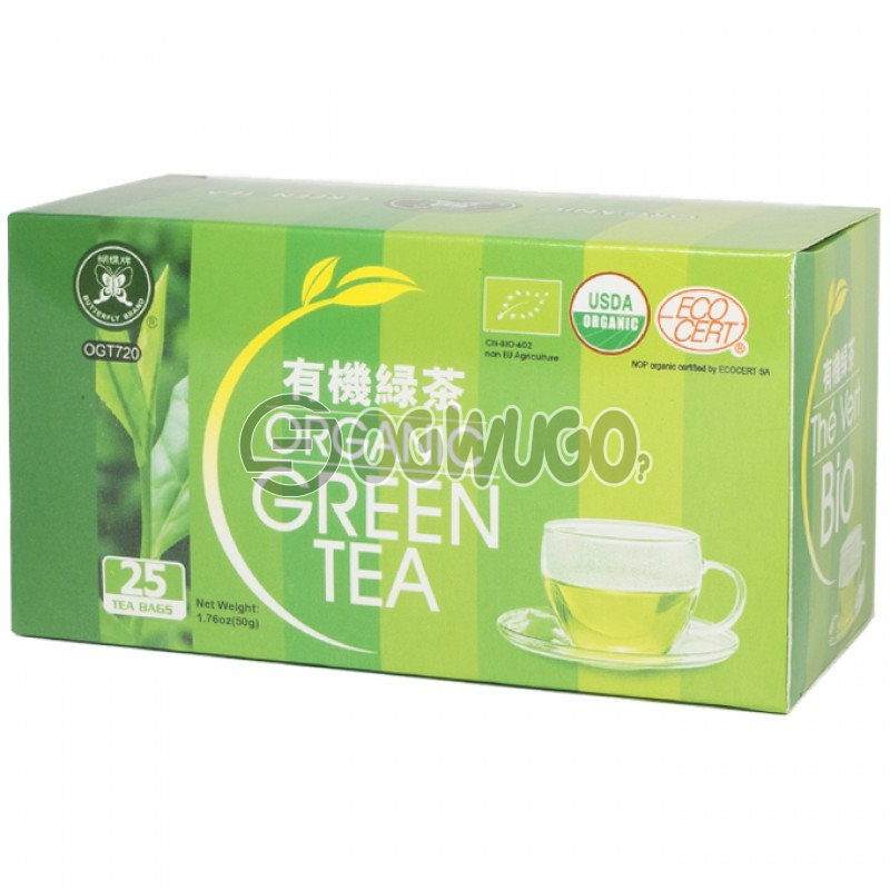 Organic Green Tea: unable to load image