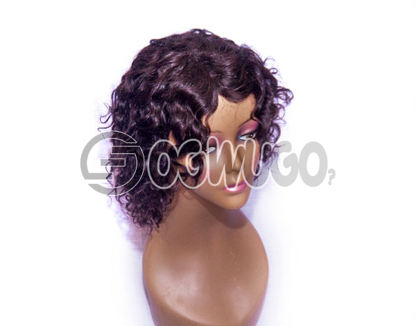 Amanda Human Hair Wig, hair length of 18 inThis ches. order takes two working day to be delivered from when you place order: unable to load image