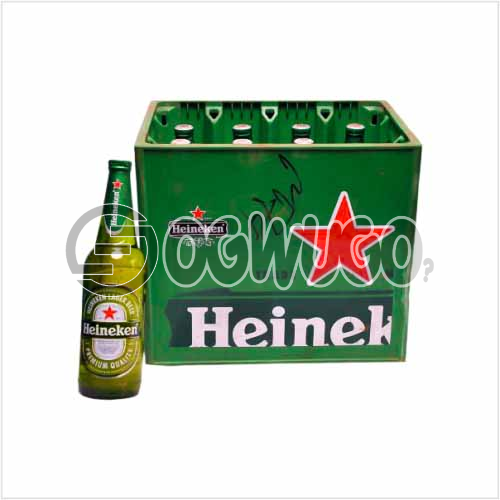 Heineken Premium Lager Beer 12 bottles in a crate x 60cl bottle size: unable to load image