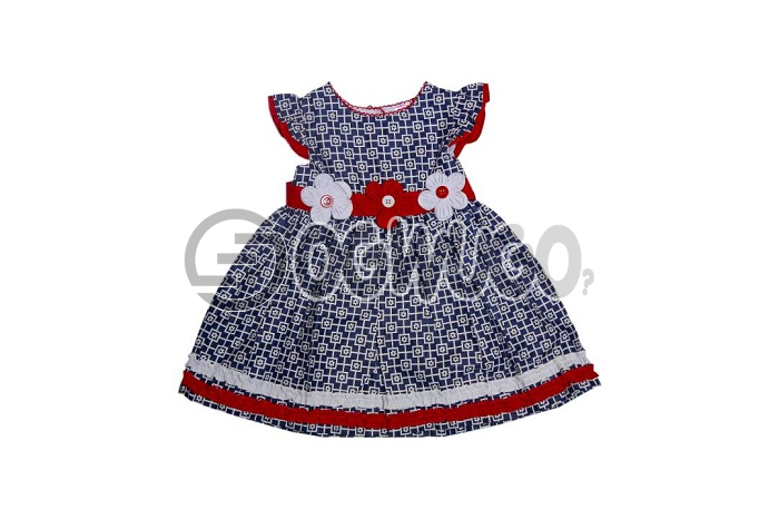 Miss linda baby girl fashion,worn for different occasion.It is has beautiful colors (red+white),Worn by kids between the ages of 3-4years.: unable to load image
