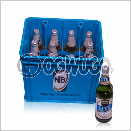 Starlite Premium Lager Beer 12 bottles in a crate x 60cl bottle size