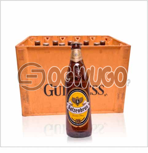 Satzenbrau Premier Lager Beer 60cl bottle size alcohol content 5.3% produced by guiness: unable to load image