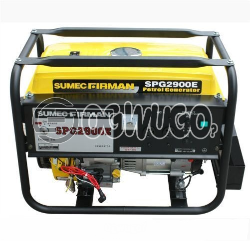 SUMEC FIRMAN GENERATOR SPG 2900E with battery and automatic key starter. Order now and have it delivered to your doorstep.