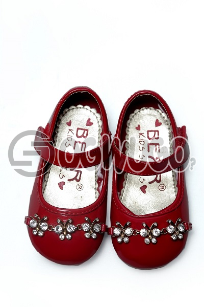 Bear kids shoe(red)
