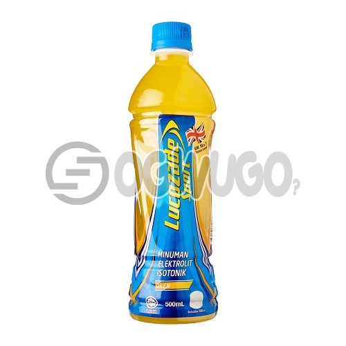 Lucozade Sport Orange  Body Fuel Isotonic Plastic Bottle Pet Soft Drink 50 cl Bottle size: unable to load image