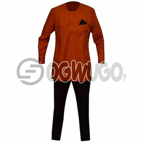 Oyenx Coop Senator with  Long Sleeve top and trouser. This takes  6 working days to be delivered (If your size is extra large, it will attract an additional N500): unable to load image