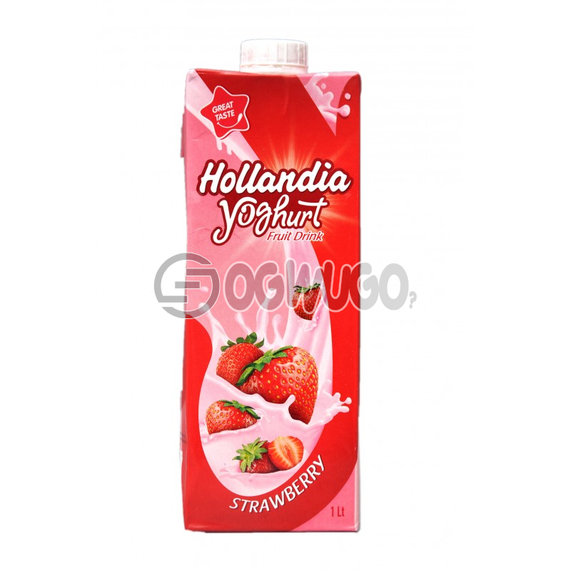 HOLLANDIA YOGHURT Fruit Drink with a 1 litre pack size strawberry flavoured drink: unable to load image
