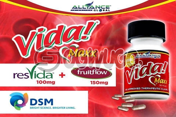 Vidamax Alliance in Motion Global support healthy blood vessels and healthy blood circulation