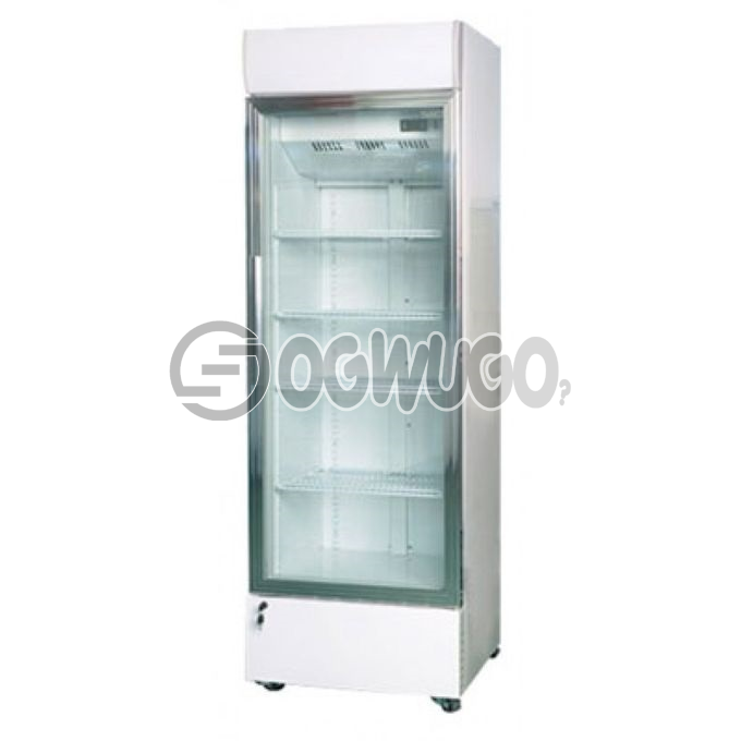 Skyrun SHOW GLASS SC130FN, Transparent Door Glass 100% HFC Free & FCKW Free Easy to clean interior Fast Freezing Function Lock High Efficiency Compressor Separate Chiller Compartment Weight: 35kg Capacity (L): 130