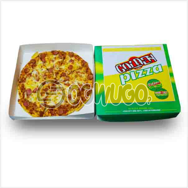 Large size amazing delicious Hot Pepperoni Pizza with cheese and Pepperoni toppings