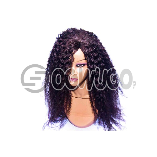 Caribbean Synthetic Human Hair Wig, hair length of 20 inches. This order takes two working day to be delivered from when you place order: unable to load image