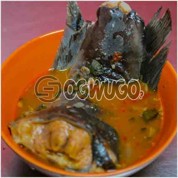Hot Fresh Fish Pepper soup which come with great taste and overwhelming aroma. it is neatly prepared: unable to load image