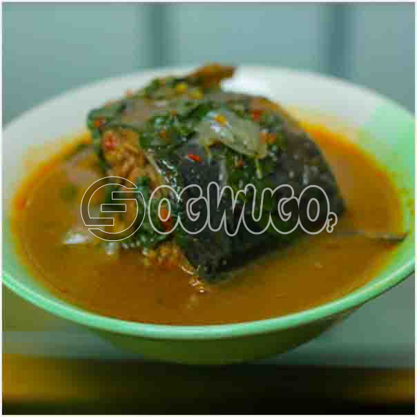 Hot Fresh Fish Pepper soup which come with great taste and overwhelming aroma. it is neatly prepared