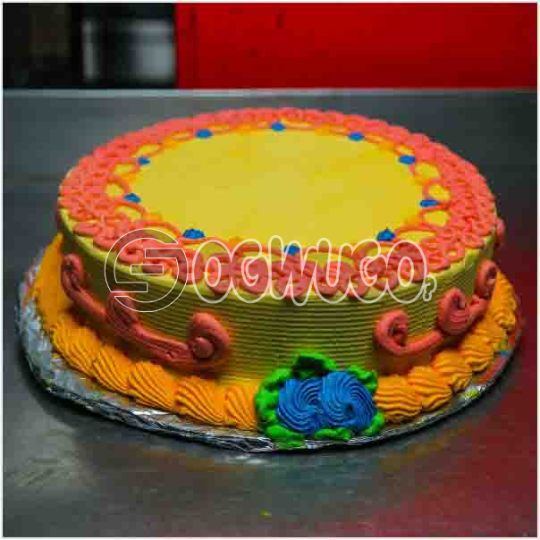 Beautiful Delicious Celebration cake 01 it can used to celebrate birthdays and other event: unable to load image