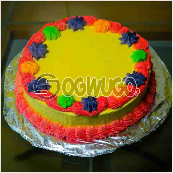 Beautiful Delicious Celebration cake 02 it can used to celebrate birthdays and other event: unable to load image