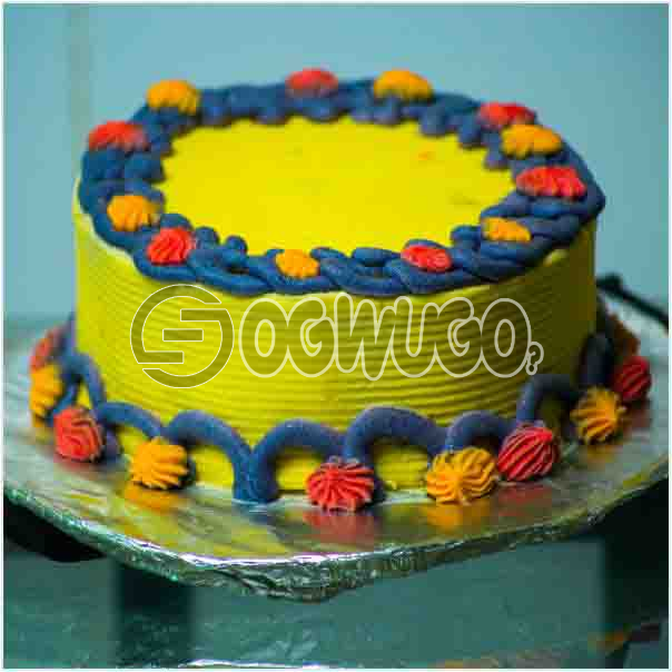 Beautiful Delicious Celebration cake 04 it can used to celebrate birthdays and other event: unable to load image