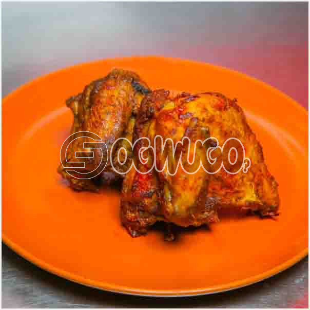 A portion of fresh Grilled Chicken which is well garnished with assorted ingredient just the way you: unable to load image