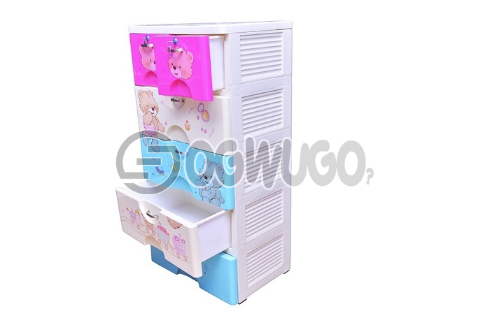 Baby wardrobe,Mother care 5-Layer Plastic Storage Baby Wardrobe.A baby wardrobe is a great addition to your babies room.: unable to load image