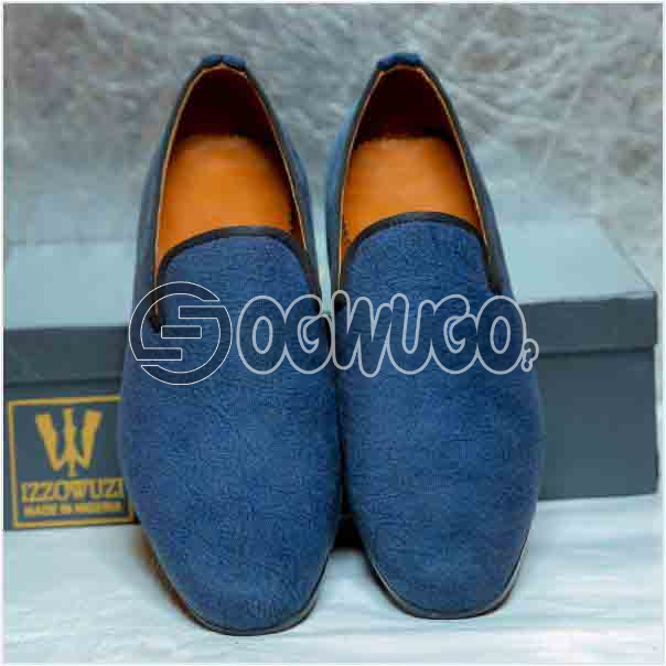 Izzowuzi Suede slip-on casual loafers the perfect out-door foot wear made in Nigeria by Izzowuzi