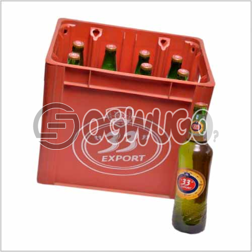 33 Premium Export lager beer x 12 bottles in a crate 60cl bottle size: unable to load image